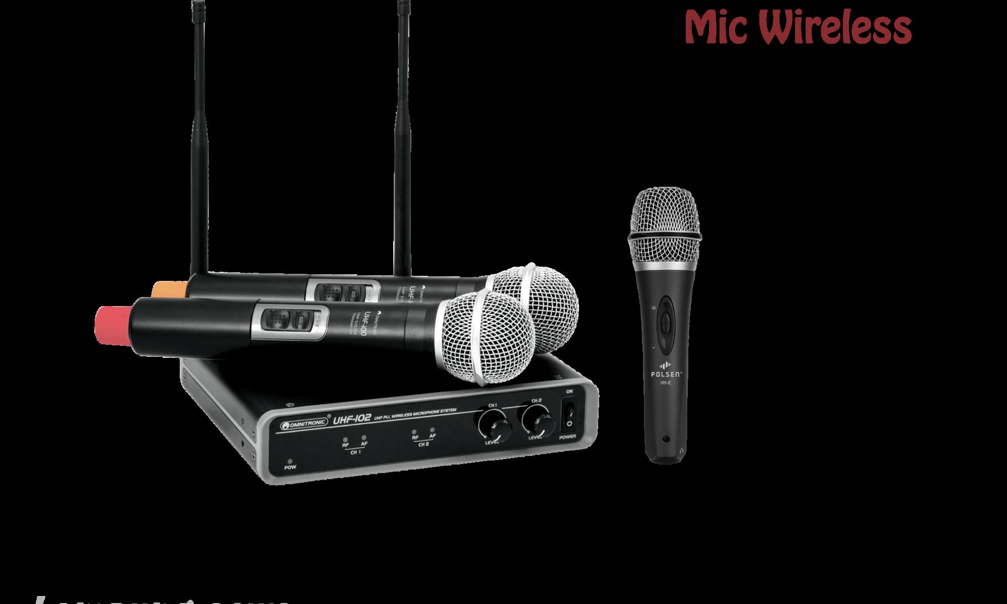 mic wireless lampung